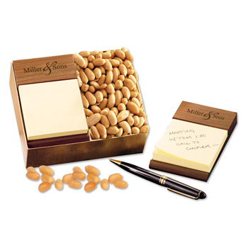 Post-it® Note Holder with Choice Virginia Peanuts
